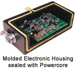 Molded Electronic Housing sealed with Powercore